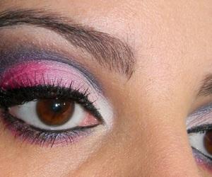 eyes, make up, and maquiagem image