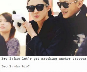 kpop, exo funny, and tao image