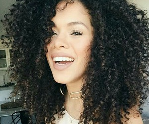 Afro, beauty, and curly hair image