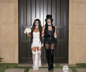 Halloween and kourtney kardashian image