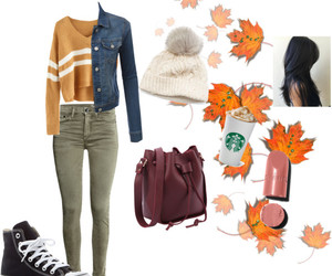fasion, outfit, and Polyvore image