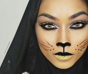 beauty, cat, and goals image