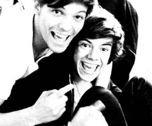 larry, one direction, and louis image