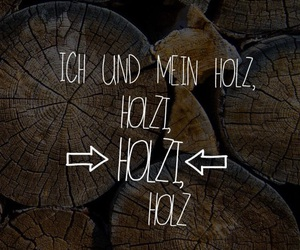 holz, feiern, and gute laune image