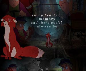 disney, quote, and the fox and the hound image