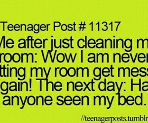 funny, teenager post, and room image