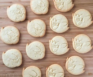 boo, food, and Cookies image