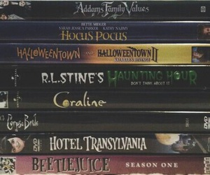 Halloween, movies, and fall image