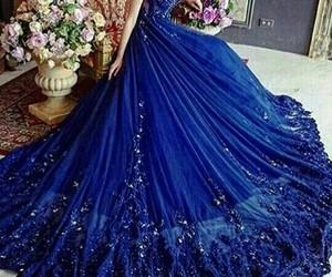 blue, dress, and azul marinho image