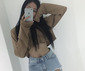 aesthetic, mirror, and asian image