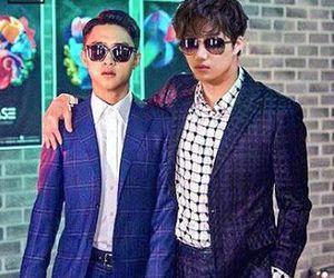 exo, kpop, and boy's love image
