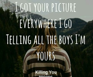 cool, forest, and Lyrics image