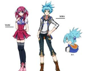 anime, pink, and yu gi oh image