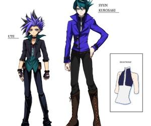 anime, dark, and yu gi oh zexal image