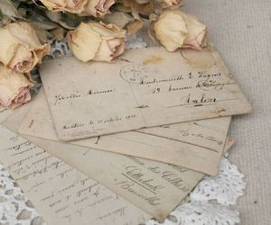 vintage and rose image