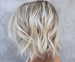 hair, girl, and look image