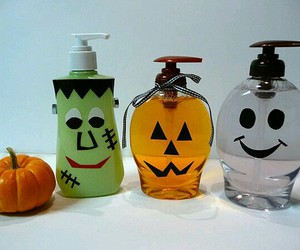 decor, soap, and spooky image