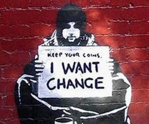 change, art, and graffiti image