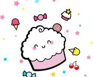 cupcake, cute, and candy image