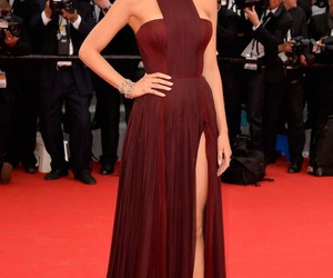 blake lively, dress, and red image