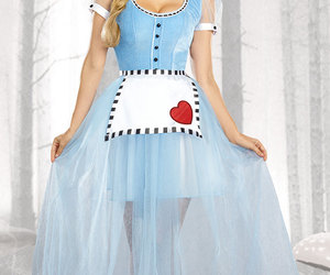 alice, alice in wonderland, and costumes image