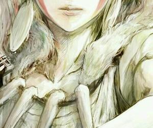 anime, princess mononoke, and art image