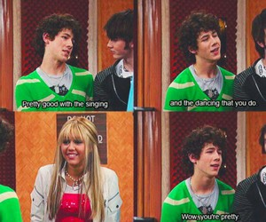 hannah montana, jonas brothers, and nick jonas image
