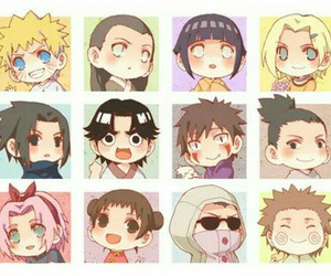 naruto, anime, and kawaii image