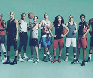 Basketball, nike, and wnba image