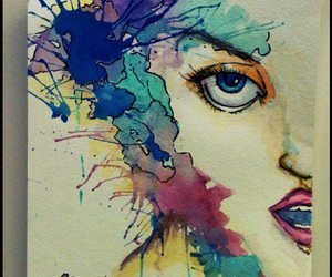 art, color, and cool image
