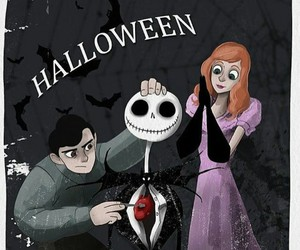 nightmare before christmas, olive, and enoch image