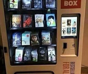 books, box, and bookstore image