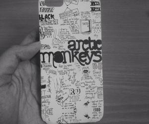 am, arctic monkeys, and black image