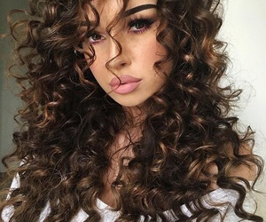 girl, hair, and beauty image