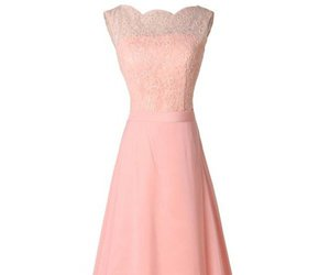 evening dresses, cheap dresses, and pink dresses image