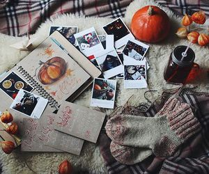 autumn, helloween, and book image