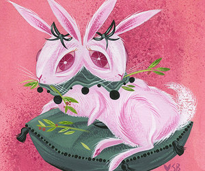 bunny, etsy, and animal oddity image