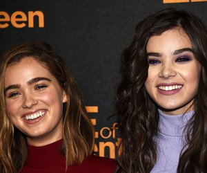 hailee steinfeld, haley lu richardson, and edge of 17 image
