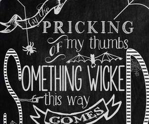 Halloween, quotes, and shakespeare image