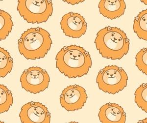 background, patternator, and lion image