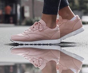pink, shoes, and reebook image