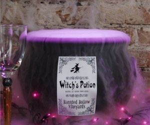 witch, potion, and Halloween image