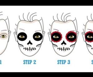 fashion, Halloween, and make-up image