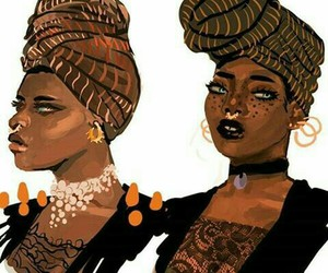 African, black beauty, and choker image