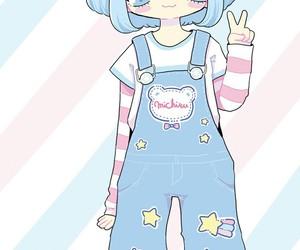 anime, art girl, and beautiful girl image