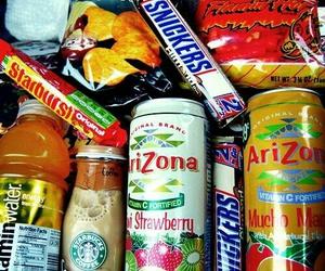 food, arizona, and snickers image