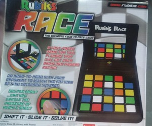 cube and rubiks race image