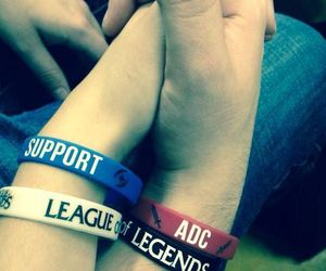 adc, league of legends, and love image