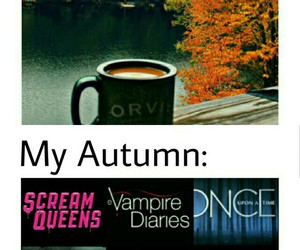arrow, supernatural, and autumn image