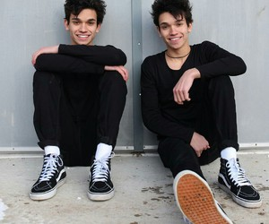 twins, dobre, and lucas and marcus image